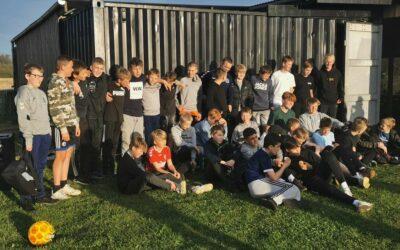 U13/U14 DRENGE: SOCIAL AKTIVITET HOS MIDTJYSK EVENT